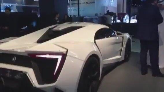 Dünyanın En Pahalı Otomobi Lykan Hypersport