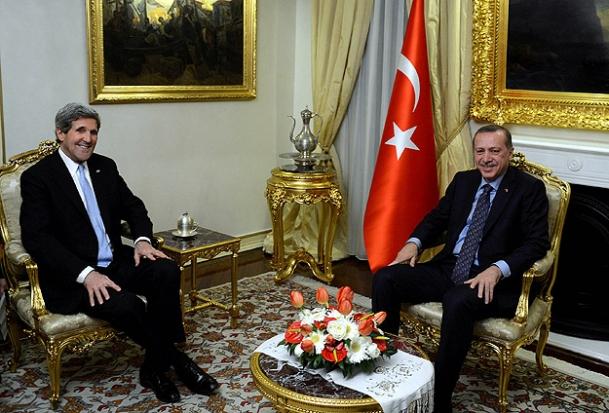 Erdoğan Kerry İle Görüştü