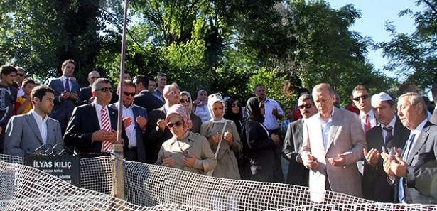 Erdoğandan Kılıçın Mezarına Ziyaret