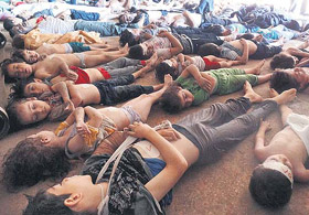 Esed Katliamı Dünya Basınında