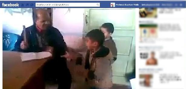 Facebookta Çocuklara Dayak Görüntüleri İzle