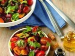 Fasulyeli Domates Salatası