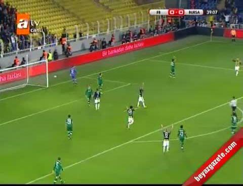 Fenerbahçe Bursaspor Semihin Penaltı Golünü İzle