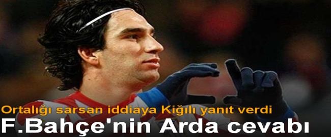 Fenerbahçe Cephesinden İlk Arda Turan Açıklaması
