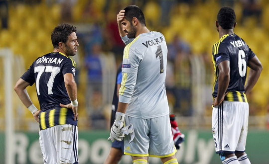 Fenerbahçede 4 Yıldız Kadro Dışı