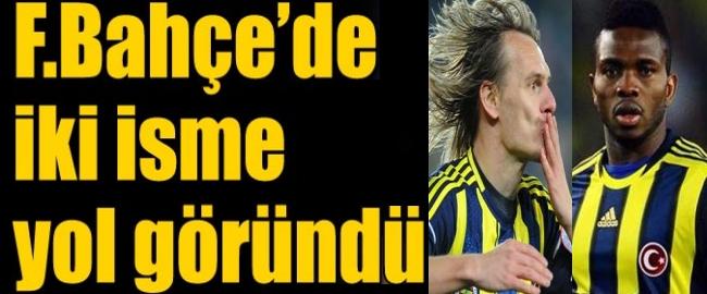 Fenerbahçede İki Ayrılık Var