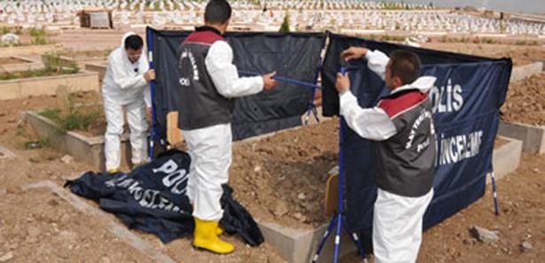 G.Antepte 3 Kişinin Mezarı 11 Yıl Sonra Açıldı