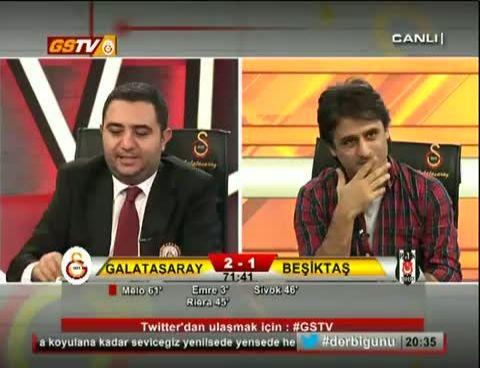 Galatasaray Beşiktaş Maçı Gs Tv Spikeri Yorumları