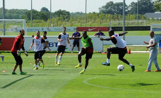 Galatasaray Gaziantepspor Maçının Hazırlıklarına Başladı