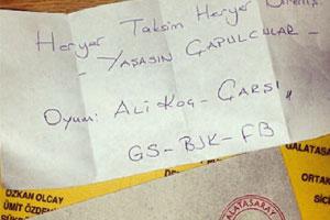 Galatasaray Kongresinde Fenerbahçeli Ali Koça Oy