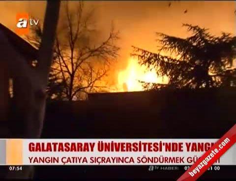 Galatasaray Üniversitesi Yangından Sonra İzle