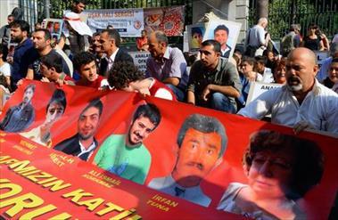 Galatasarayda 24 Saatlik Oturma Eylemi
