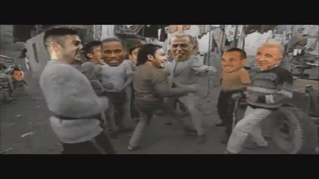 Galatasarayın Drogbalı Snaijderli Videosunu İzle