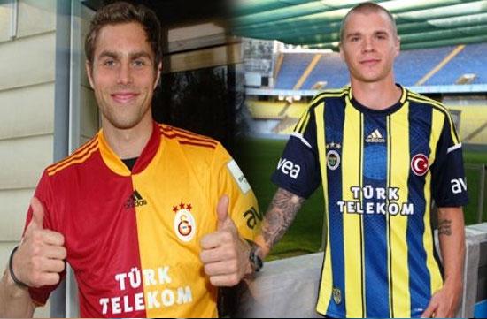 Galatasaraylı Ve Fenerbahçeli Oyuncu Şok