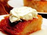 Ganaj Kremalı Ekmek Tatlısı Pastası