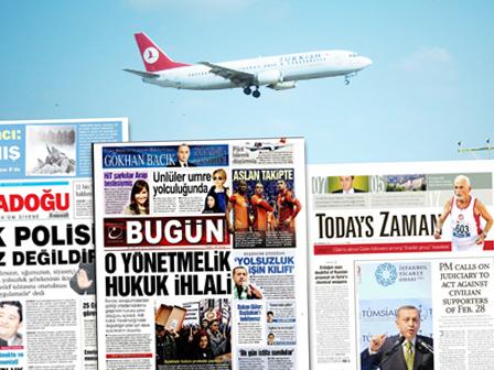 Gazeteler Meclise Taşındı