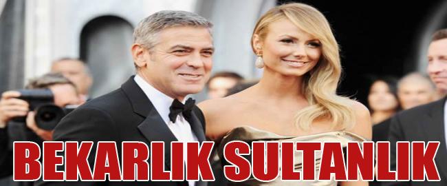 George Clooney Yine Bekarlığı Seçti..