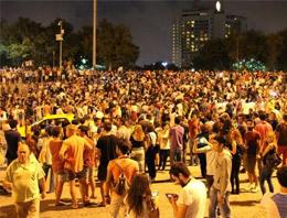 Gezi Parkına Akın Ettiler