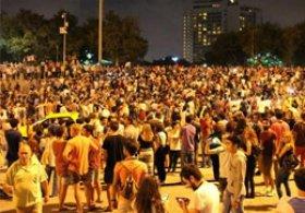 Gezi Parkında Hareketli Saatler