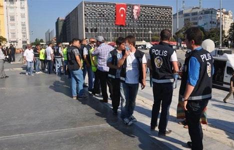 Gezi Yine Kapatıldı