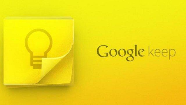 Google Keep Uygulamasi Artik Uyari Verebiliyor Google Keep Uygulaması Artık Uyarı Verebiliyor