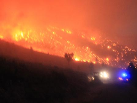 Gülnardaki Orman Yangını Devam Ediyor