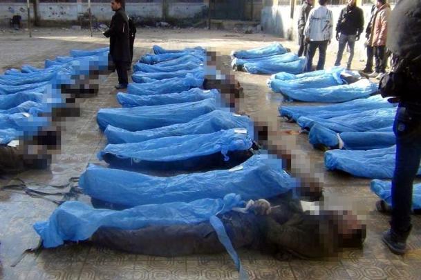 Halepte 72 Kişi İdam Edildi