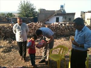 Halfeti Kaymakamlığından İhtiyaç Sahibi Ailelere Yardım