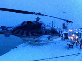 Helikopter Pilotunun Mucize İnişi