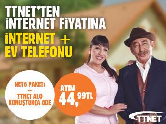 TTNET  Hem İnternet Hem Telefon Ayrıntıları