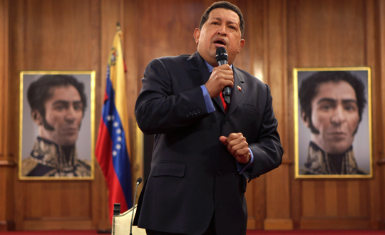 Hugo Chavez Venezuelaya Döndü Mü