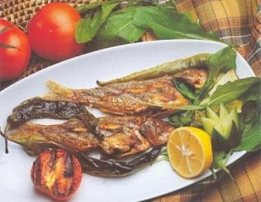 Izgarada Barbunya Balığı   Nasıl Yapılır