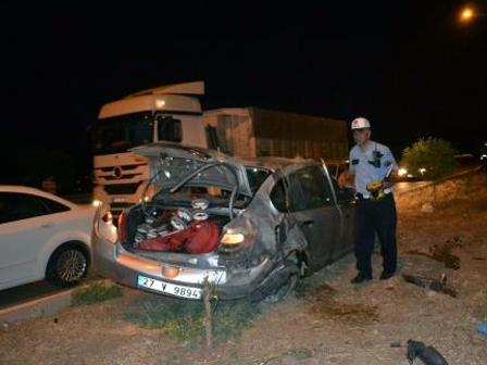 Kahramanmaraşta Trafik Kazası 5 Yaralı