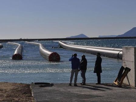 Kıbrısa Su Taşıyacak Sistem Bitmek Üzere