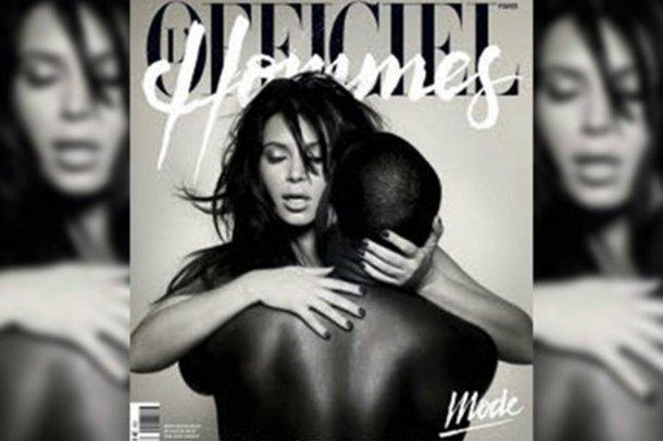 Kim Kardashian Ve Kanye West Cesur Pozları
