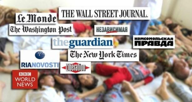 Kimyasal Silah Saldırısı Dünya Basınında