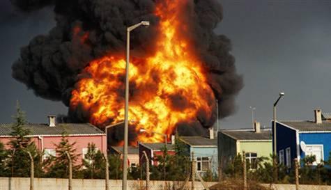 Kocaelide Fabrika Yangini Kocaelide Fabrika Yangını