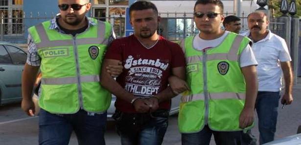 Konyada İranlı Gaspçı Yakalandı