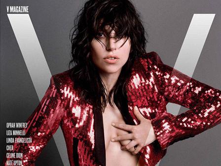 Lady Gaga Çıplak Pozlarıyla Kapak Olacak
