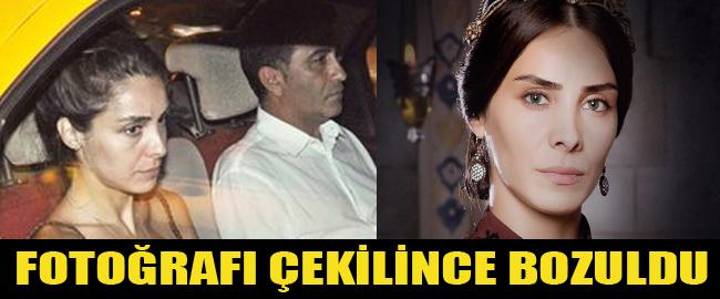 Mahidevran Sultan Gazetecilere Bozuk Attı