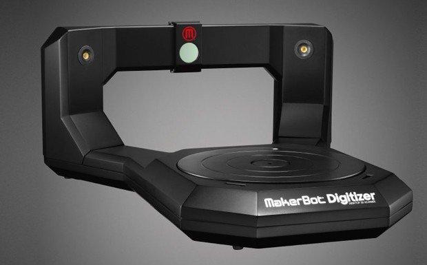 MakerBot Digitizer Üç Boyutlu Tarayıcı Sipariş Listesinde
