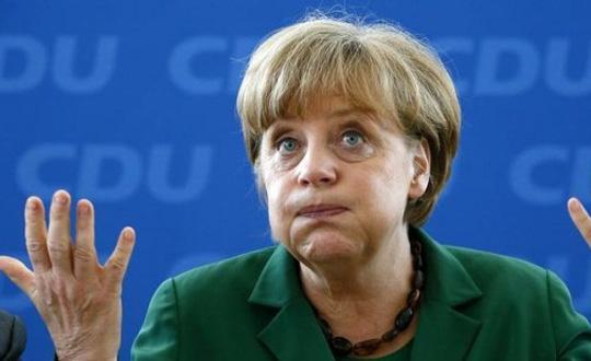 Merkelin Kampanyasına Rehine Engeli