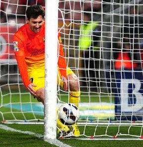 Messi 300 Golunu Atti Messi 300. Golünü Attı