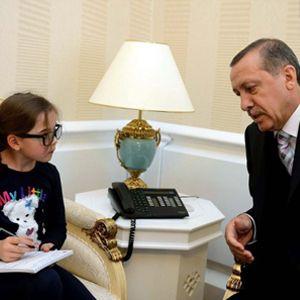 Minik Gazetecinin Başbakan Röportajı
