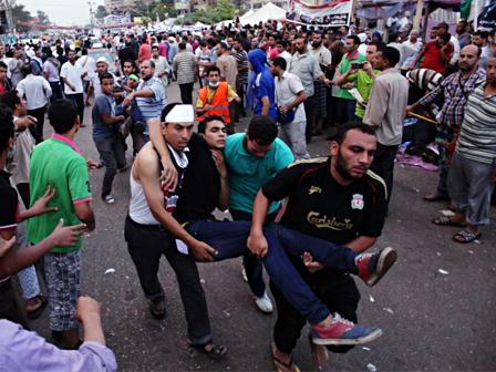 Mısırda Bir Katliam Daha 460 Ölü (Video)