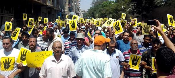 """Mısırda """"Şehitler Cuması"""" Gösterileri Başladı"""