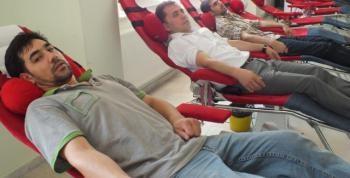 Mondi İşçilerinden Toplu Kan Bağışı