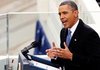 Obama İlk Kez Konuştu