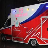 Obez Ambulansı İlk Hastasını Taşıdı