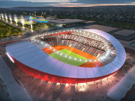 Olimpiyat Stadında Gezi Tezahüratları